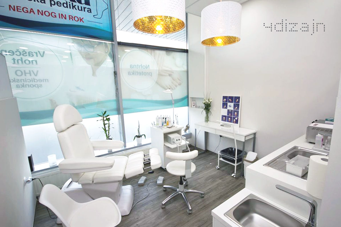 Prenova salona medicinske pedikure
