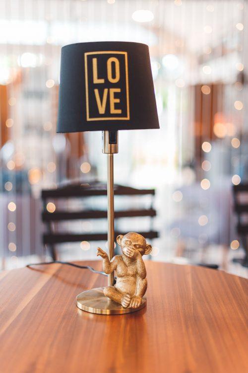 Decorative Monkey Lamp